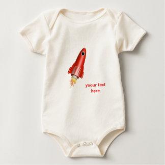 red rocket baby bodysuit