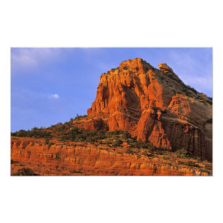Red Rocks at Sterling Canyon in Sedona Arizona Photographic Print