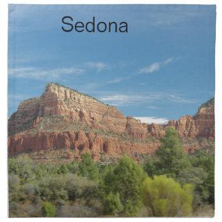 Red rocks in Sedona Napkin