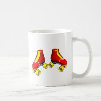 Red Roller Skates Mug