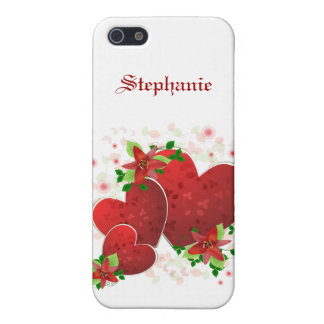 Red Romance Hearts iPhone 5 Case For The iPhone 5