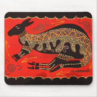 RED ROO MOUSE MAT