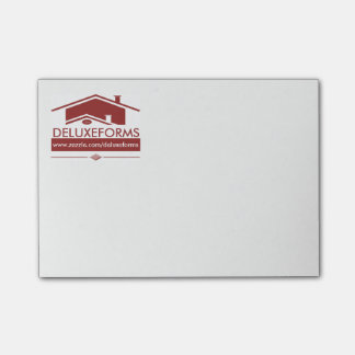 Red Roof Post-it Notes