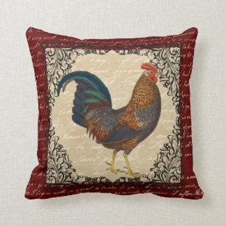 Red Rooster Vintage Cushion