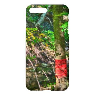 Red Rope Around Tree iPhone 7 Plus Case