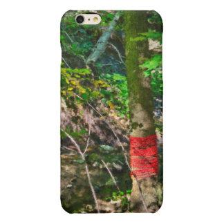 Red Rope Around Tree iPhone 6 Plus Case