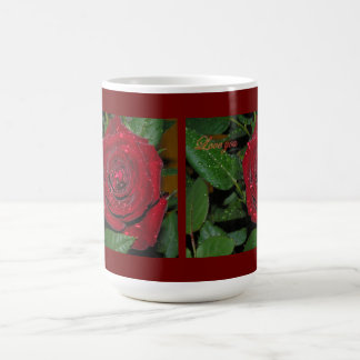 Red Rose #2 Basic White Mug