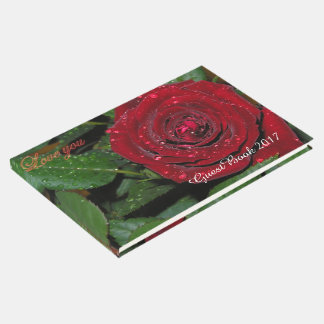 Red Rose #2 Guest Book
