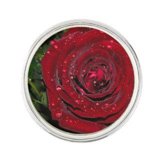 Red Rose #2 Lapel Pin