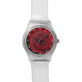 Red Rose #2 Wrist Watches
