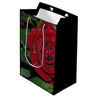 Red Rose #2 Medium Gift Bag