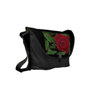 Red Rose #2 Commuter Bag