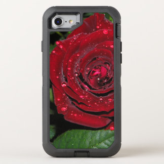 Red Rose #2 OtterBox Defender iPhone 8/7 Case