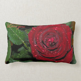 Red Rose #2 Throw Cushions