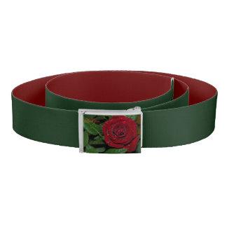 Red Rose #2 Belt
