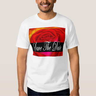 Red Rose Art Save The Date - Multi Shirts
