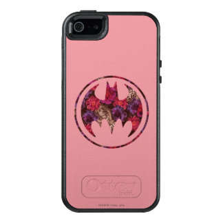 Red Rose Bat Signal OtterBox iPhone 5/5s/SE Case