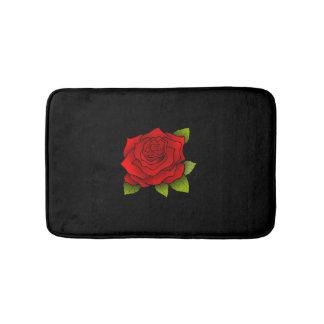Red Rose Bath Mats