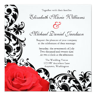 Red And Black Invitations Sasolo Annafora Co