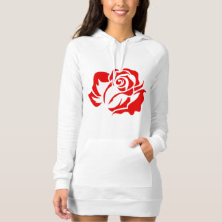 Red Rose Bloom Customizable T Shirt