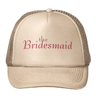 Red Rose Bridesmaid Hat