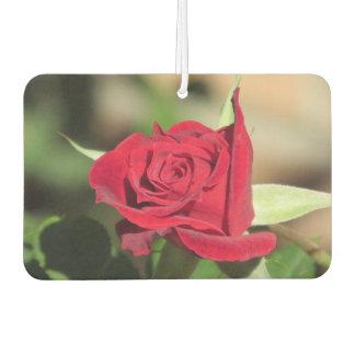 Red Rose Car Air Freshener