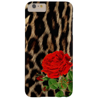 Red rOSE Cheetah Barely There iPhone 6 Plus Case