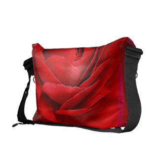 RED ROSE COURIER BAG