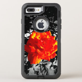 Red rose Custom OtterBox Apple iPhone Case