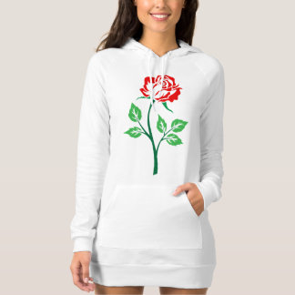 Red Rose Customizable T-shirt
