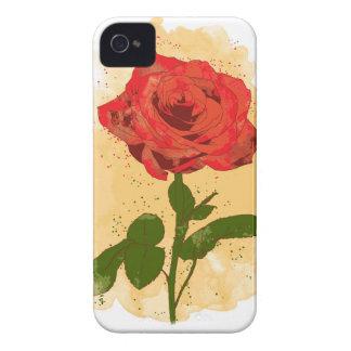 Red Rose Design iPhone 4 Cases