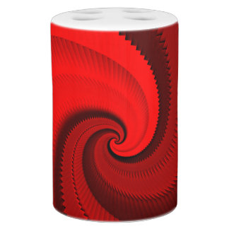 Red Rose Dragon Scales Spiral Soap Dispenser