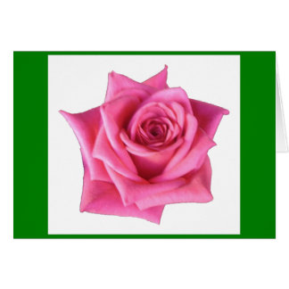 Red Rose Easter Greeting Card
