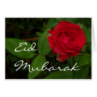Red Rose Eid Card
