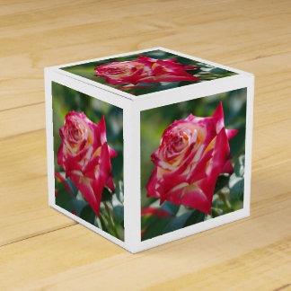 Red Rose Favour Boxes
