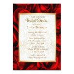 Red Rose Floral Bridal Shower