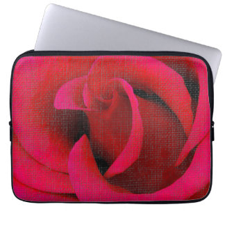 Red Rose flower Laptop Sleeve