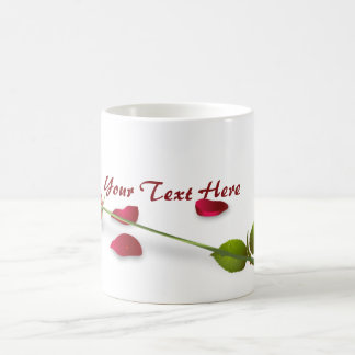 Red Rose Flower Mug