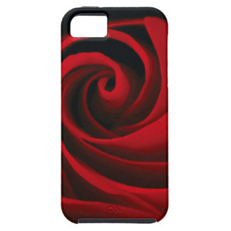 Red Rose Flower Swirl Classy Design iPhone 5 Cases