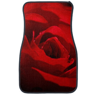 Red Rose For My Valentine Floor Mat