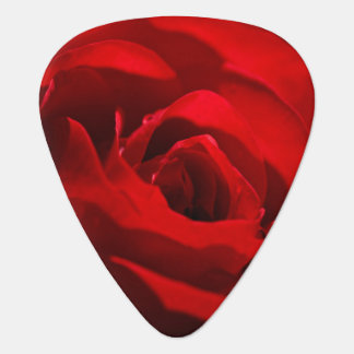 Red Rose For My Valentine Guitar Pick