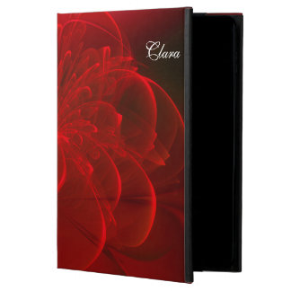 Red Rose Fractal Personalized iPad Air 2 Case