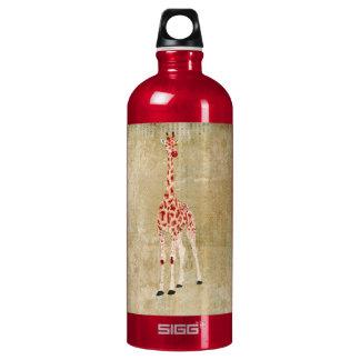 Red Rose Giraffes  Liberty Bottle SIGG Traveller 1.0L Water Bottle