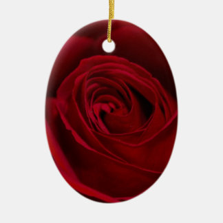 Red Rose Gorgeous Christmas Ornament