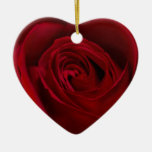 Red Rose Gorgeous Christmas Tree Ornaments