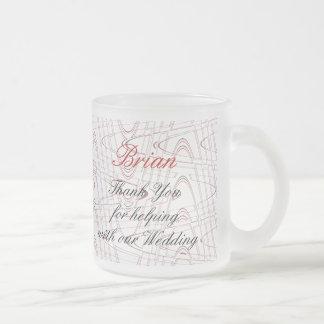 Red Rose... Graphic Glass Mug-customize Frosted Glass Mug