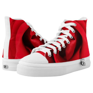 Red Rose High Tops