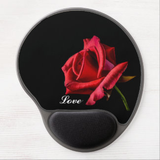 Red Rose Love Gel Mouse Pad