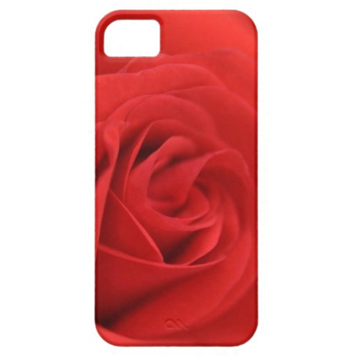 Red Rose Macro iPhone 5 Case