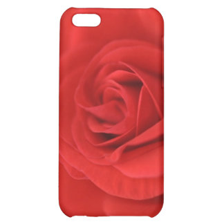 Red Rose Macro iPhone 5C Case